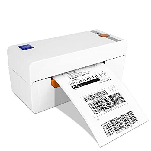 NETUM NT-LP110A Impresora de Etiquetas, Impresora térmica Posible impresión de código de Barras Permite Imprimir Cartas en Porto para envíos Nacionales e internacionales (Interfaz USB) para su PC/Mac