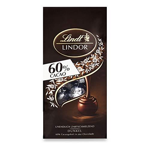Lindt & Sprüngli Lindor Kugel Beutel Extra Dunkel 60%, 136g