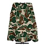 Adult Barber Cape, Professional Salon Haircut Capes,Camouflage Color Haircut Kit Hairdressing Apron for Home Salon and Barbershop