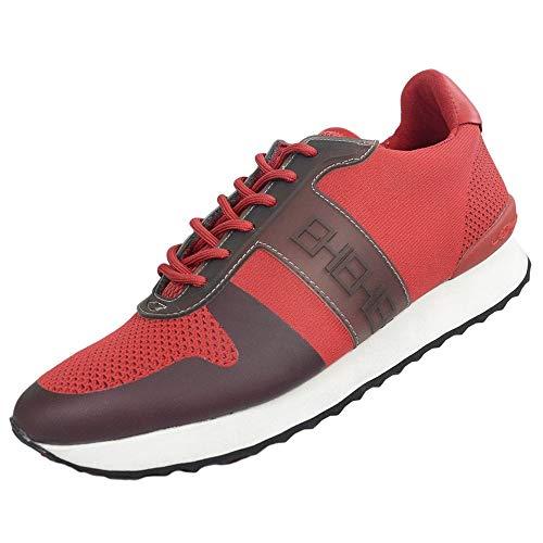Ed Hardy Mono Runner Turnschuhe, Rot / Schwarz, Rot - rot - Größe: 39.5 EU