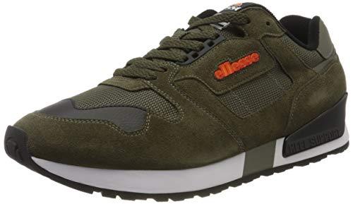 ellesse Herren 147 Sneaker, Mehrfarbig (Dark Green/Black Dk Grn/Blk), 46 EU
