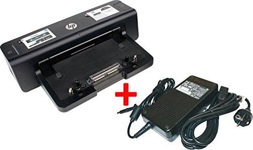 HP Dockingstation HSTNN-I11X 4 x USB 3.0 + HP 230 W Netzteil für Probook 6470b