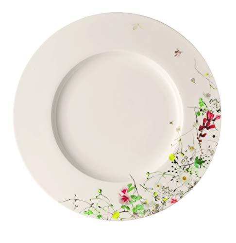 Rosenthal Brillance Wilde Fleurs Teller mit Flügel, Porzellan, Mehrfarbig, 28 cm