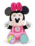Clementoni - Disney Baby Minnie Juega y aprende Peluche parlante, Multicolor, estándar, 17304