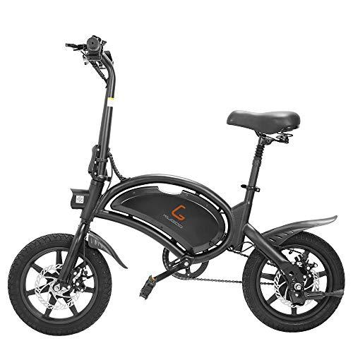 """Faltbares Electric Bike Elektrofahrrad, 48v 4000w Batterie, Geschwindigkeit bis zu 45km/h, 25±3km Lange Reichweite, 14\""""Luftreifen, Erwachsene Unisex Urban E-Bike - Kugoo Kirin B2"""
