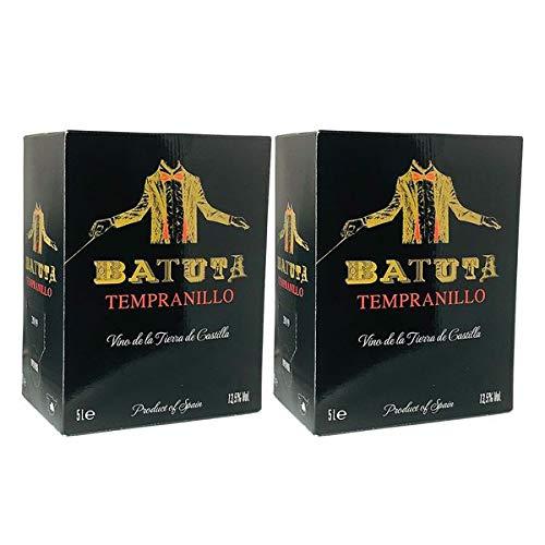 Rotwein Spanien Tempranillo Batuta Bag in Box trocken (2x5L)