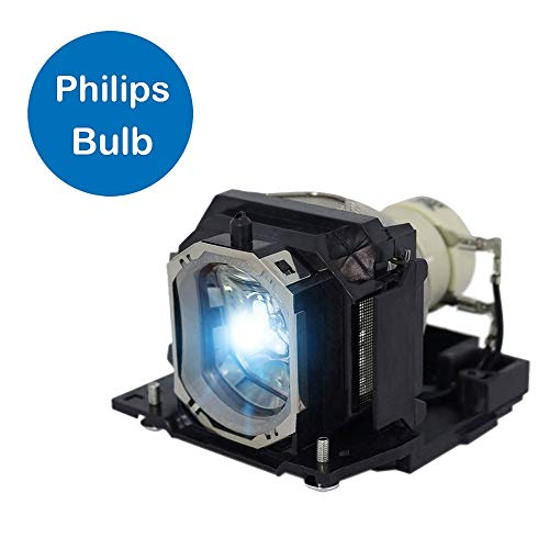 Projector Lamp Assembly with Genuine Original Ushio Bulb Inside. HCP-4000X Hitachi Projector Lamp Replacement