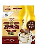 【訳あり(メーカー過剰在庫)】UCC ゴールドスペシャル ドリップコーヒー リッチブレンド 15P×6袋