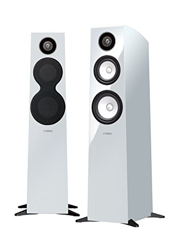 Yamaha NS-F700 40W Weiß - Lautsprecher (3-Wege, 1.0 Kanäle, Verkabelt, 40 W, 45-50000 Hz, Weiß)