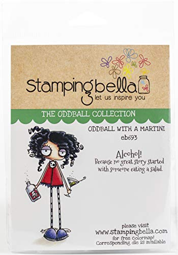 Stamping Bella Cling Stamps, Long Stemmed Oddball