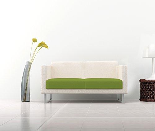 Italian Bed Linen Più Bello Copriseduta per Divano, 96% Poliestere, 4% Elastometro, Verde Mela, 160-220 cm