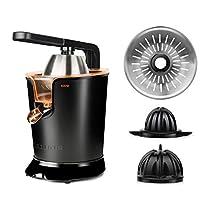 Oferta en Taurus Easy Press 600 Exprimidor eléctrico, W, INOX, Negro