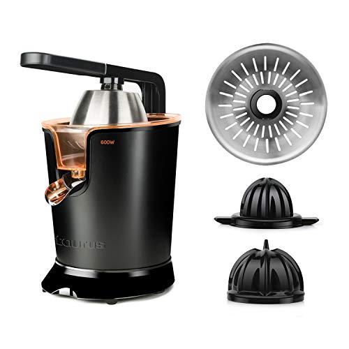 Taurus Easy Press 600 Exprimidor eléctrico, W, INOX, Negro