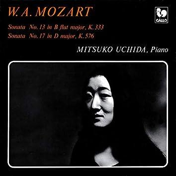 Mozart: Piano Sonata No. 13 in B-Flat Major, K. 333 - Piano Sonata No. 17 in D Major, K. 576