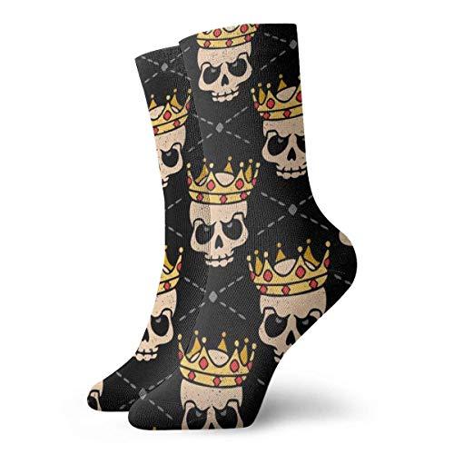 wu Crystal Ball Fortune Teller Witch Athletic Socken, Unisex Mid-Calf Socken Söckchen