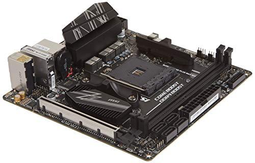 MSI Performance Gaming AMD Ryzen 1ª, 2ª y 3ª generación AM4 M.2 USB 3 DDR4 HDMI Display Port Mini-ITX Placa base (B450I Gaming Plus MAX WiFi)