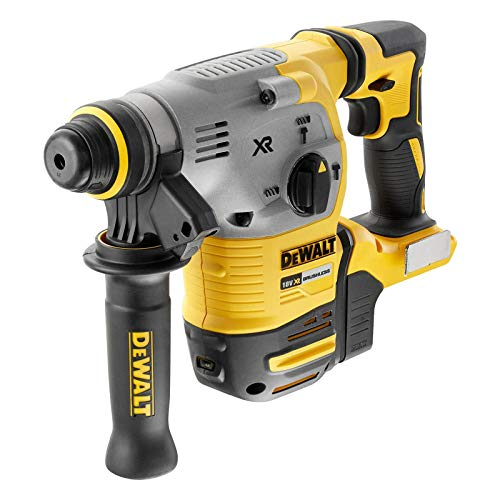 Dewalt dch283nt-xj – Hammer electroneumático Brushless XR 18 V SDS-Plus (2.8 J, 3 Modes, Without Charger/Battery with Case Tstak VI)