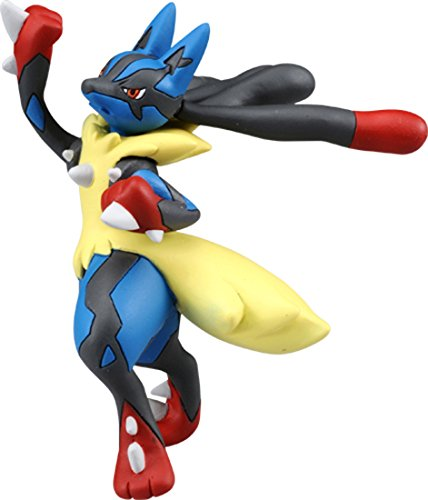 TAKARA TOMY Takaratomy Officiel Pokémon X & Y Sp-42Mega Lucario Sky Uppercut Action Figure