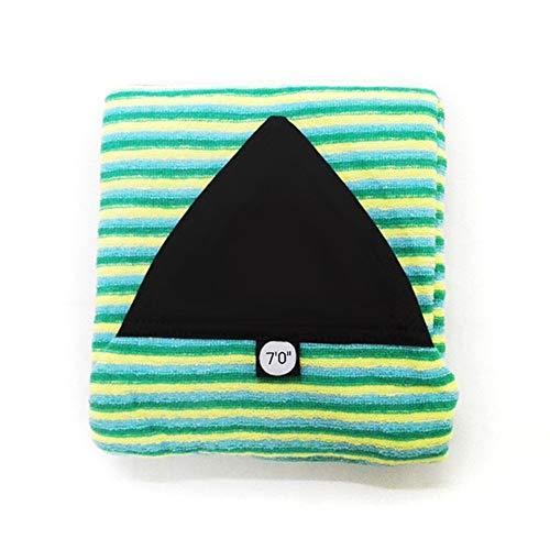"""Z-LIANG Surfbrett Socke Hot 6\'0 """"/ 6\'6"""" / 7\'0 """"/ 9\'6"""" Surfbretter Tasche Streifen Bodyboard Windsurf-Cover schützende Sonnenschäden (Color : Sky7tf)"""