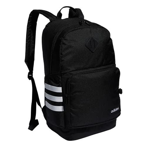 adidas Classic 3S 4 Backpack, Black/White, One Size