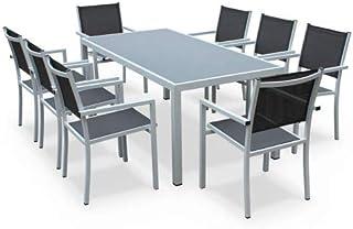 Amazon.fr : table jardin aluminium - Blanc