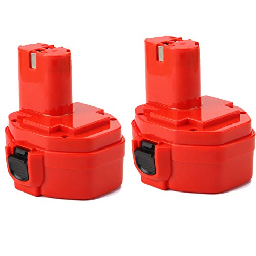 2 piezas Shentec 14.4V 3.5Ah Ni-MH Batería para Makita PA14 1420 1422 1433 1434 1435 1435F 192600-1 193985-8 192699 193157-5 193158-3