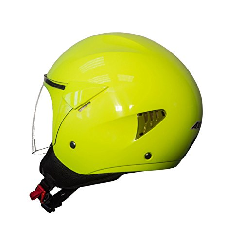 Casco Axxis SPORT CITY Solid (L, AMARILLO FLUOR)