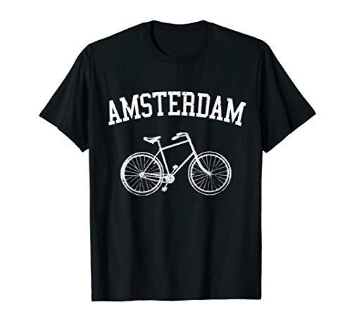 Amsterdam Hollandrad Fahrrad Holland Niederlande Souvenir T-Shirt