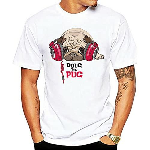 Shirt Casual Hombre Básica Cuello Redondo Suelta Manga Corta Hombre T-Shirt Personalidad Verano Moda Estampado Animal Hombre Shirt Deporte Tendencia Moderna Hombre Ropa De Calle H-08 3XL