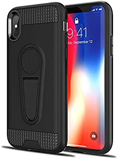 Rugged and Elegant Carrying case for iPhone X (Black)