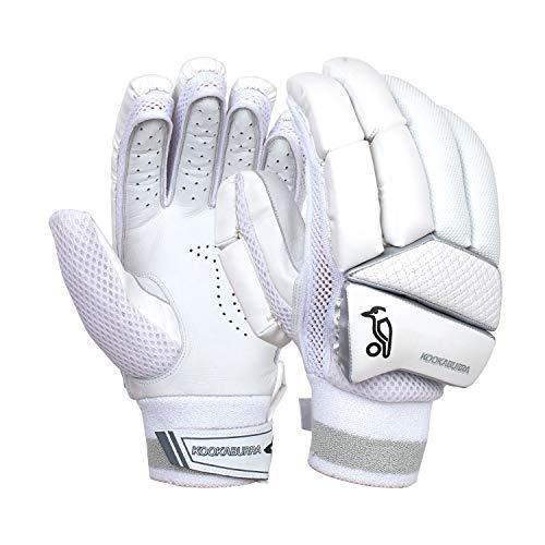 KOOKABURRA Jungen Batting Gloves 2020 Ghost 4.2 Schlaghandschuhe (kleine Junior Rechtshänder), weiß, Small Right Hand