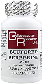 Cardiovascular Research Buffered Berberine 350 Mg, White, 90 Count