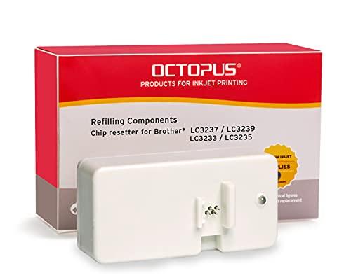 Chipresetter para cartuchos de inyección de tinta Brother LC-3237, LC-3239, LC-3233, LC-3235, para 60 reajustes