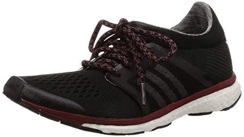 adidas Adizero Adios, Zapatillas de Deporte para Mujer, Negro (Core Black/Granite/Noble Maroon), 40 EU