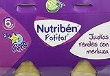Nutribén Potitos Cena De Judías Verdes y Merluza Desde Los 6 Meses, 4 Bipacks (8X 190 Gr.)