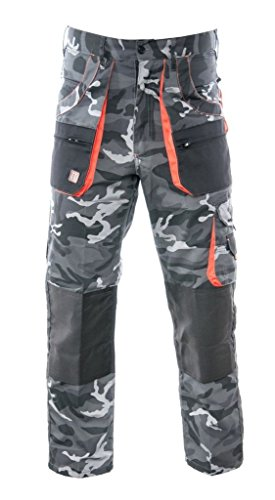 BETTER Arbeitshose CAMMO - Camouflage Schutzhose Hose (L)