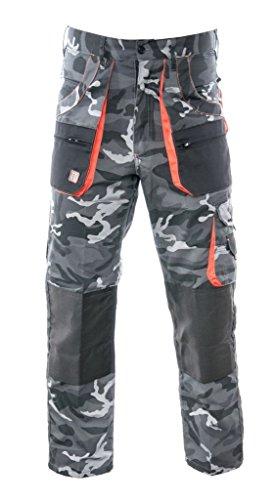BETTER Arbeitshose CAMMO - Camouflage Schutzhose Hose (M)
