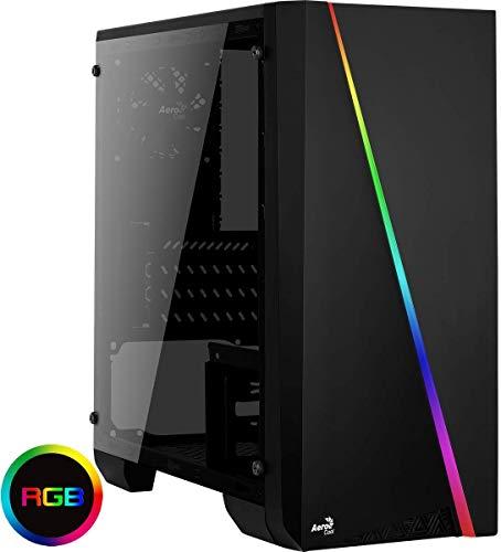 JOYBE - PC Gaming Ordenador DE SOBREMESA JOYBE Cylon Intel Gold G5400 3,70 GHz SSD 240GB 8GB DDR4 Grafica GEFORCE NVIDIA GT 1030 2GB Windows 10 Pro Juegos PC