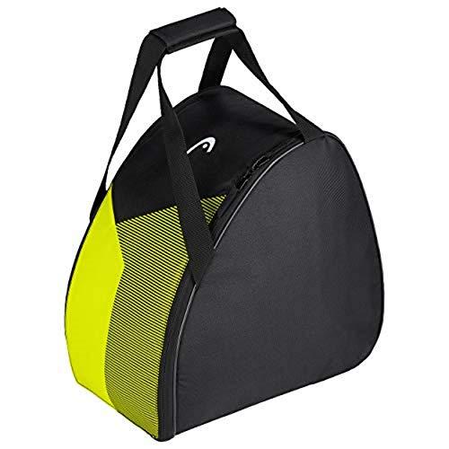 HEAD Unisex– Erwachsene Bootbag Skischuh-Tasche, schwarz/gelb, Einheitsgröße