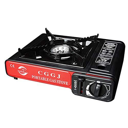 Yunt-11 - Hornillo de gas butano portátil, hornillo de gas butano para camping con quemador individual para camping al aire libre