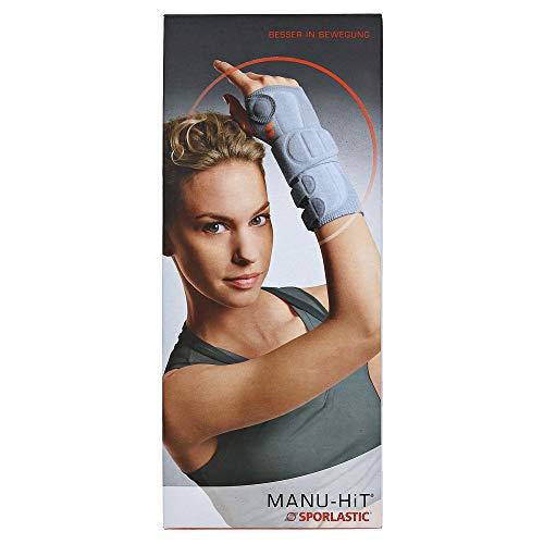 SPORLASTIC MANU-HIT HandgelenkOrthese rechts Größe S 07035 schwarz, 1 Stück, 03265420