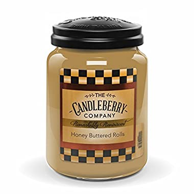 Candleberry Honey Buttered Rolls 26oz. Jar