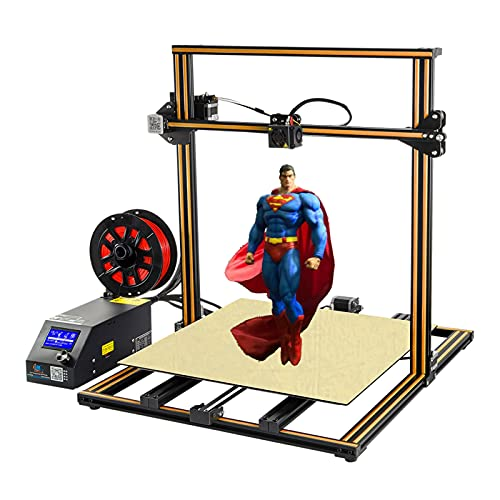 Creality CR-10 S5 Plus 3D Printer High Precision by Rabate with Massive Print Size 500x500x500mm and Dual Z-axis Semi-Assembled - Orange