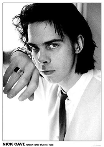 Nick Cave Poster Astoria Hotel Brussels 1989