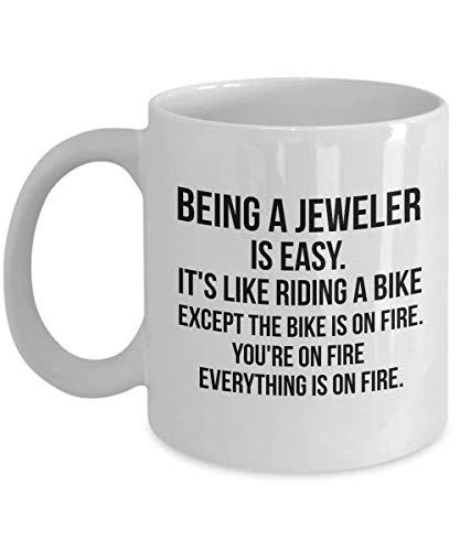 Juwelier Geschenke Juwelier Becher Geschenk für Juwelier Juwelier Lustige Juwelier Schmuckmacher Geschenk Schmuckmacher Becher Juwelier Abschluss