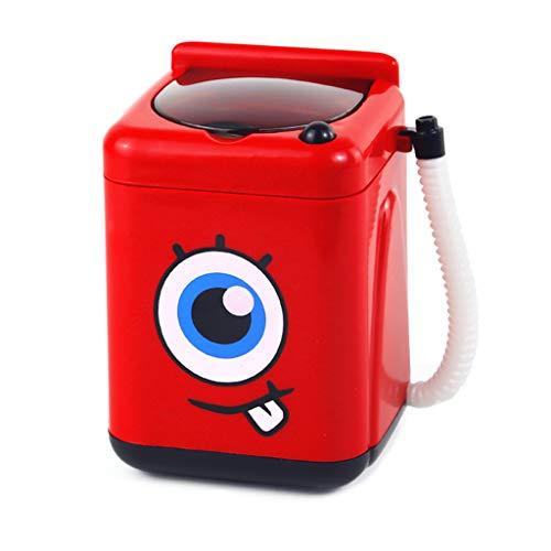 WE-WHLL Mini Cepillo de Maquillaje multifunción Limpiador simulación Lavadora eléctrica niños Juego...