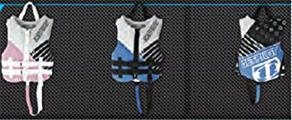 Jet Pilot Firecracker Nylon Life Vest Blue Kids (30-50lbs) PFD Boating Waterski Life Jacket