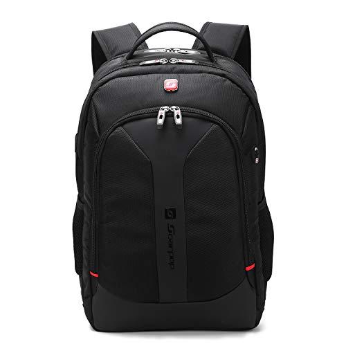 Soarpop Notebook Laptop Rucksack 17,3 Zoll Arbeitsrucksack Schwarz BB4360XL