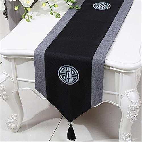 LXESWM Moderne minimalistische stijl tafelloper doek bruiloft elegante tafelloper eenvoudige tabel vlag bed sjaal tafel bank eettafel tafelkleed