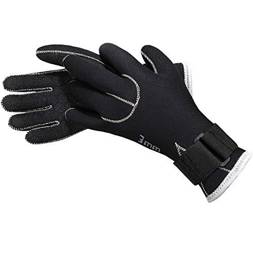 ZXLIFE@@ Fünf Finger Wetsuit Handschuhe, Hochwertige Tauchhandschuhe, Schnorchel Handschuhe, Premium Tauchhandschuhe, Winddicht, Warm halten,XL